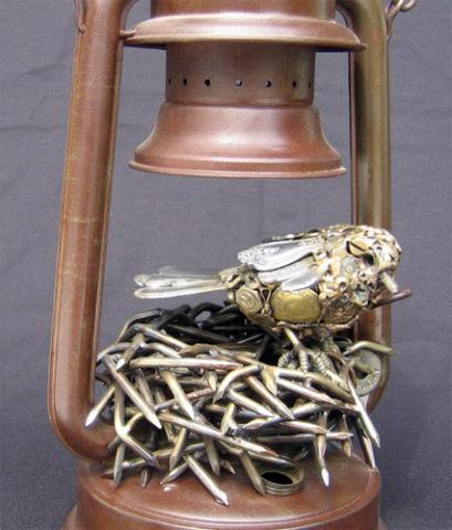 Lantern Bird by Pogan