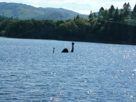 Photographic Hoax of the Loch Ness Monster (Photo by Ad Meskens/Creative Commons via Wikimedia)
