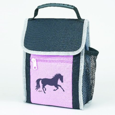 Pink Galloping Horse Lunch Sack