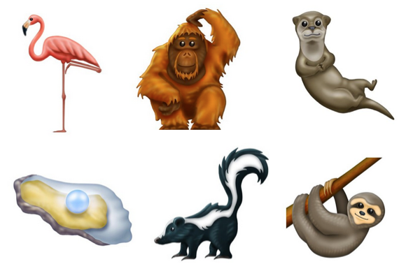 Six New Animal Wildlife Emojis Approved for 2019