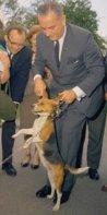 President Johnson & Him