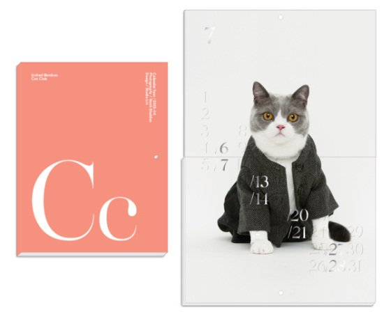 United Bamboo 2013 Cat Couture Cat Calendar: © United Bamboo