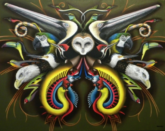 Bird Art by Hudgins: The Flock by Hudgins