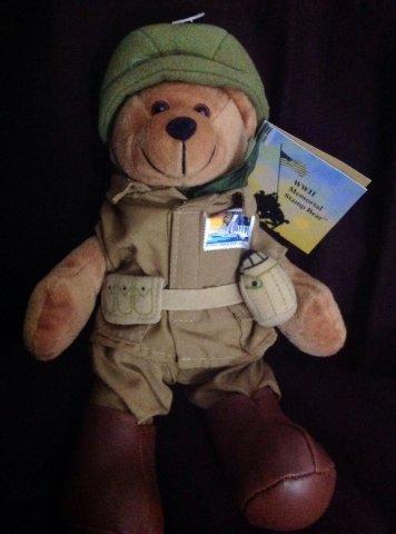 USPS WWII Soldier Bear