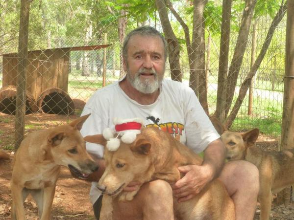 Harry Kunz and a few Dingo Friends