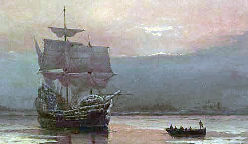 The Mayflower by William Halsall