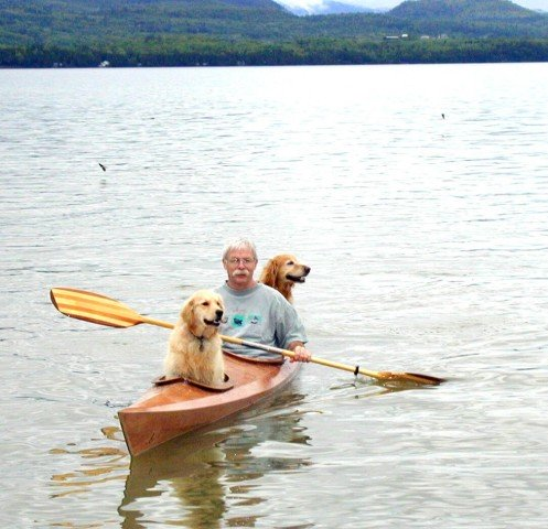 Kayaking Dogs