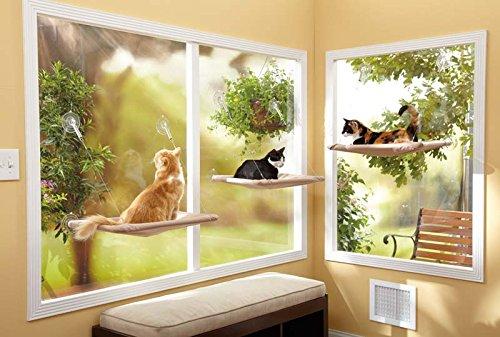 Sunny Seat Window-Mounted Cat Seat