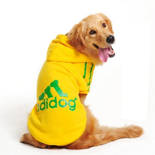 'Adidog' Dog Athletic Suits Suit Sporty Puppies