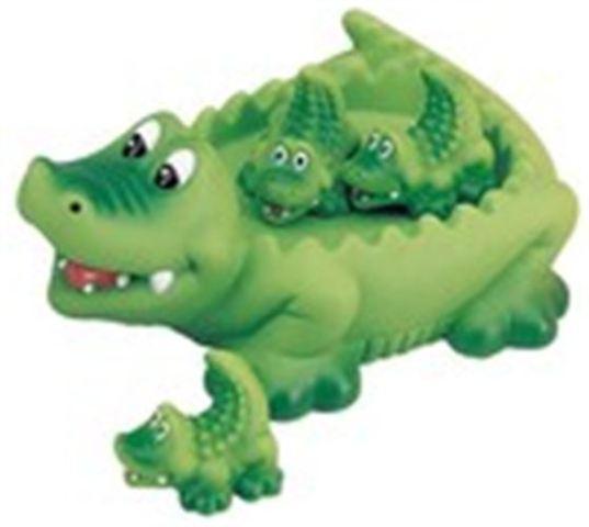 Alligator Family Bath Toy
