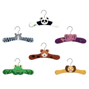 Kidorable Wild Animal Hanger Set
