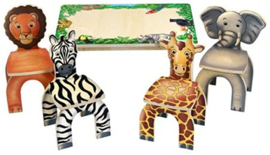 Anatex Safari Table and Chairs