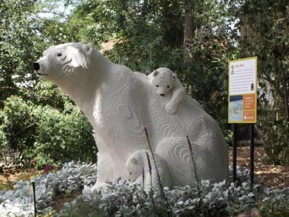 Lego Polar Bears (Photo by Annie Bear)