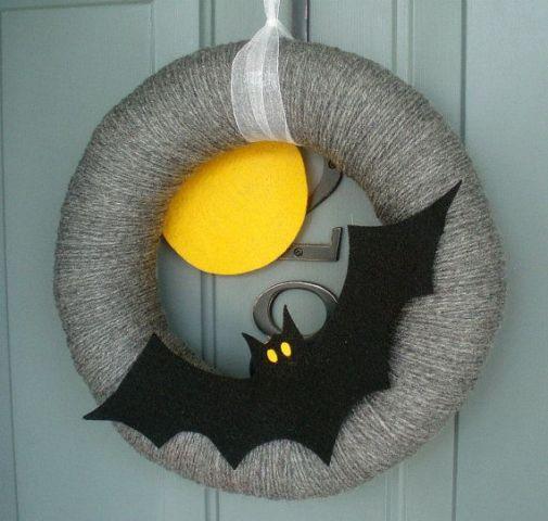 Big Bat Wreath
