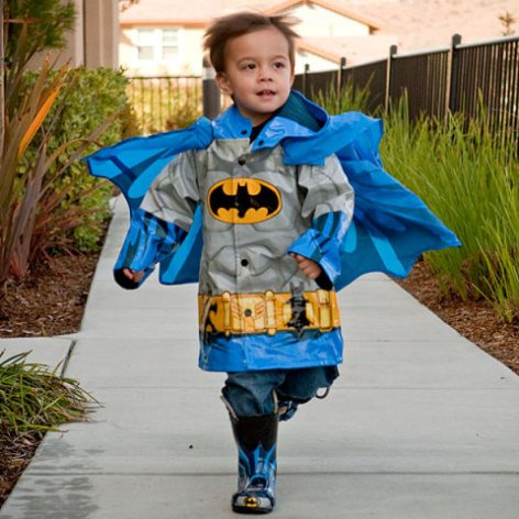 Kids' Superhero Raincoat - Batman