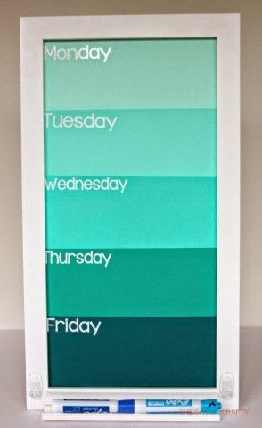 Create An Erase Board To Keep Track
