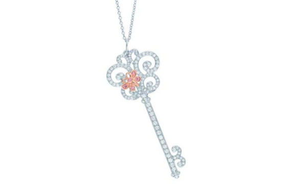 Tiffany & Co. Enchant Butterfly Pendant