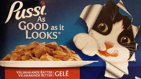 Amazing International Cat Food Cans - Finland