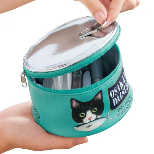 Cat Food Can Makeup Pouch