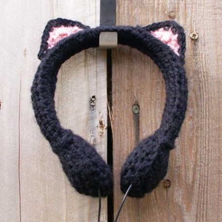 Black Cat Headphones for your ears only
