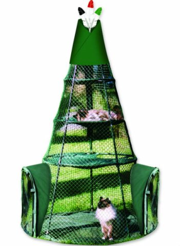 Cat Tepee from Kittywalk: Portable 'catio'