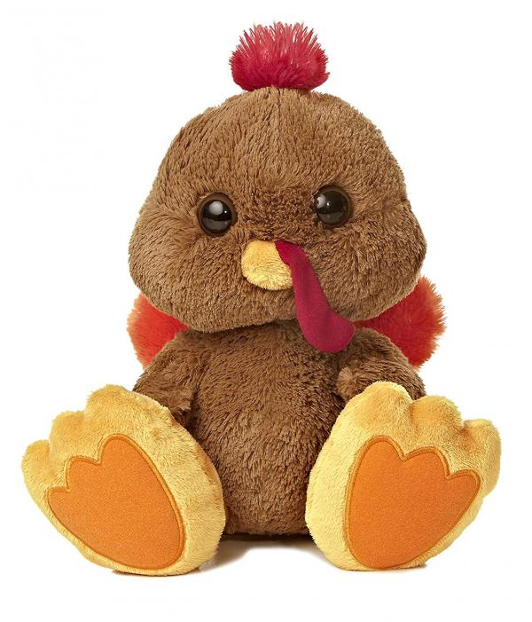 Taddle Toes Turkey Plush