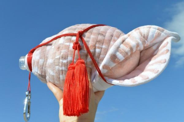 Conch Shell Soft Water Bottle Cover