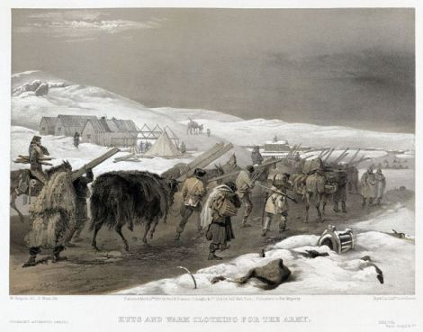 Siege of Sevastopol (Print by William Simpson/Creative Commons via Wikimedia)