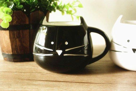 Cat Coffee Mugs by Moyishi