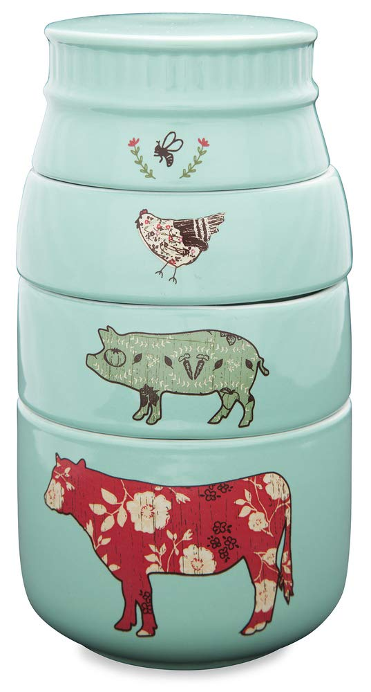 Farm Animal Measuring Cups