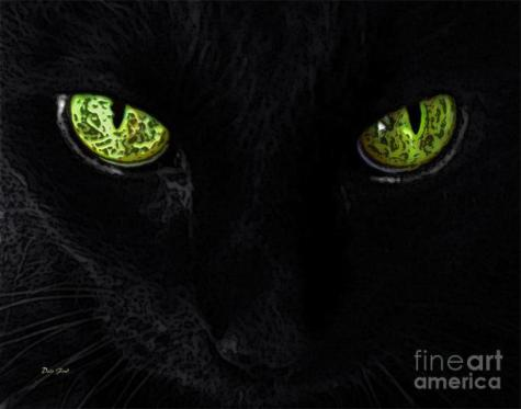 The Cat Mystique: Source: Dale Ford-fineartamerica.com