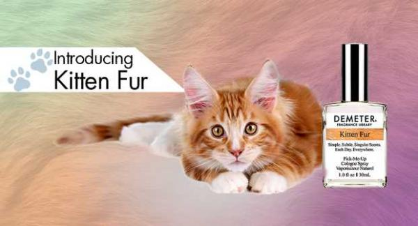 Kitten Fur Perfume Is The Essence Of Pet Scents