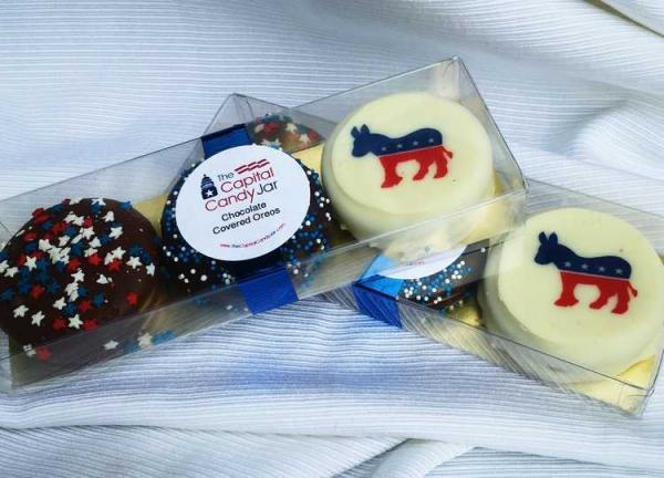 Democratic donkey cake