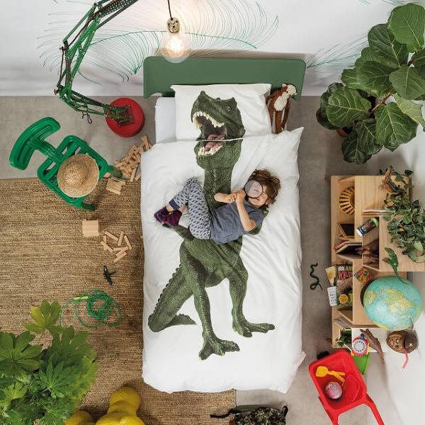 Dinosaur Duvet and Pillowcase Set