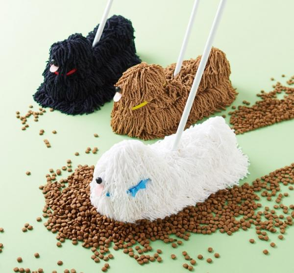 Puppy Mop Makes Cleaning Up Feel Like Walking The Dog