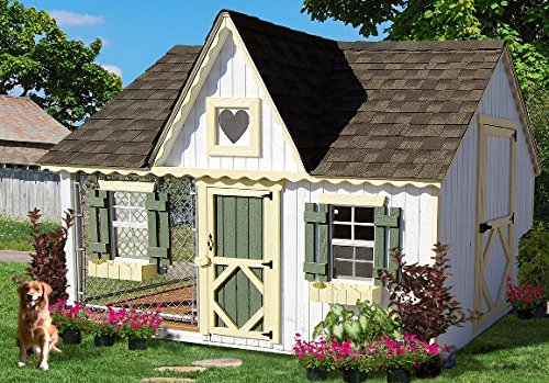 Victorian cottage doghouse