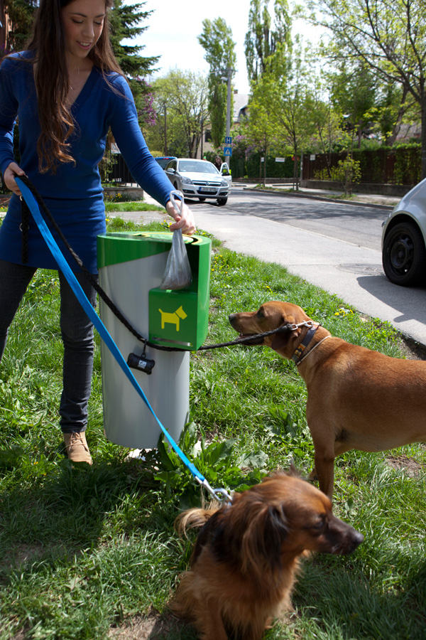 Designer Dog Waste Disposal Bin Throws Indiscriminate Dumpers A Curve