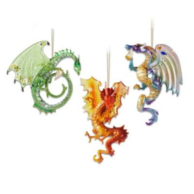 Dragons of the Crystal Cave Ornaments