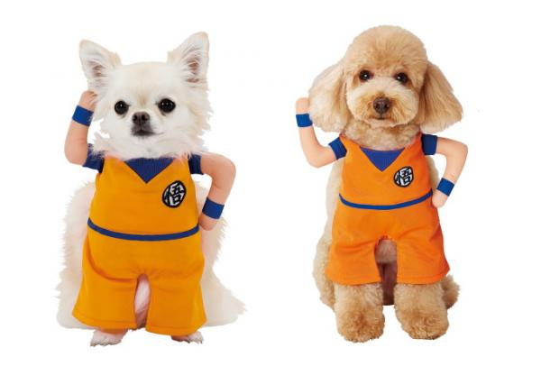 Dragon Ball Z Pet Cosplay Suits