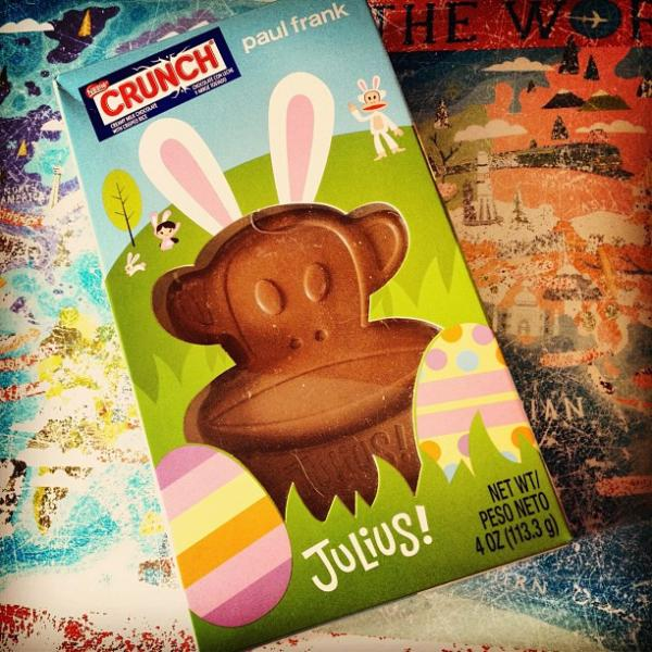 Easter Chocolate Paul Frank Julius Monkey