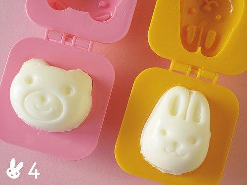 Bear and Bunny Egg Molds