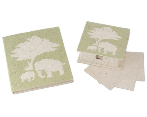 Elephant Poo Note Paper and Journal