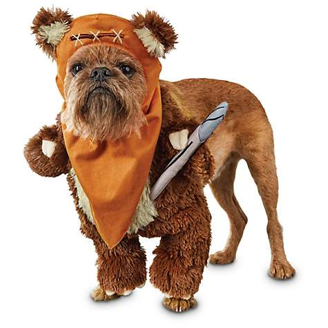Ewok costume for pets
