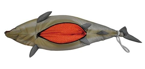 Salmon Two-Way Travel Pillow