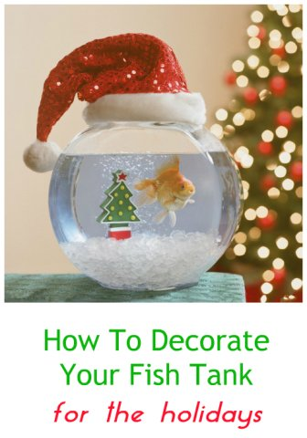 need tips and ideas for decorating your fish tank for the holidays theres not much out there commercially in terms of christmas