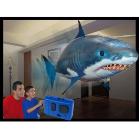 Air Swimmers Flyring Remote Control Shark