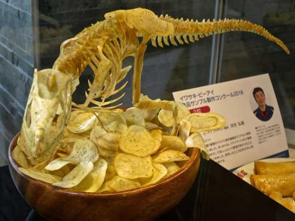 Potato Chip T-Rex Is Terrifyingly Delicious