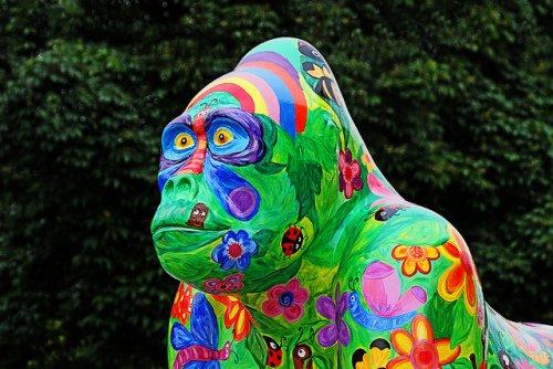 Garden Gorilla: (Photo by Leo Reynolds /Creative Commons via Flickr)