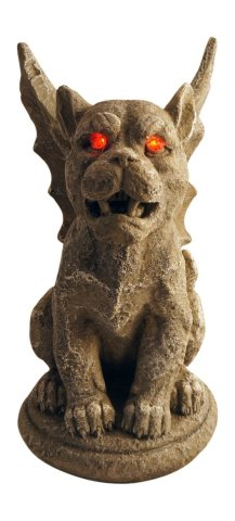 Large Creepy Halloween Gargoyles
