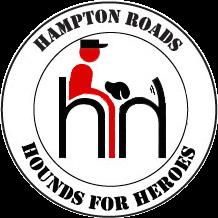Hampton Roads Hounds For Heroes Logo